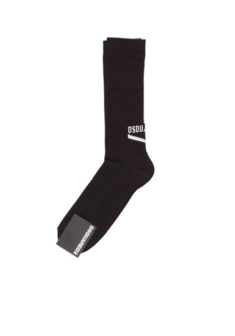 DSQUARED2 | knee sock | DFV142290NERO