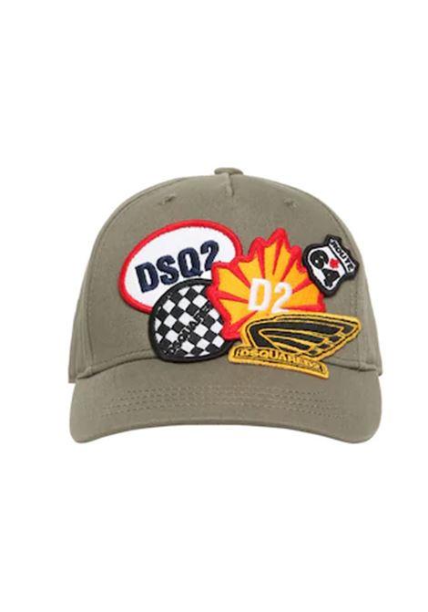 Cappello Dsquared2 DSQUARED2 | Cappello | DQ0132D00I8VERDE