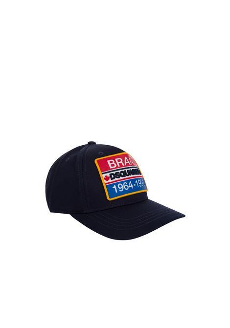 Cappello Dsquared2 DSQUARED2 | Cappello | DQ0133D00I8BLU