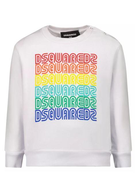 DSQUARED2 | sweatshirt | DQ0172D004LBIANCO