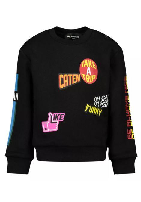 DSQUARED2 | sweatshirt | DQ0193D00J7NERO