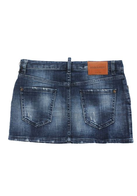 DSQUARED2   skirt   DQ01W4JEANS