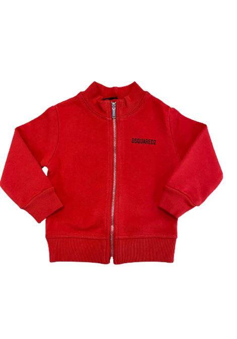 DSQUARED2 | sweatshirt | DQ0247D002YROSSO