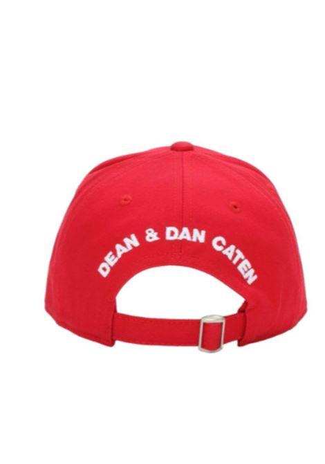 Cappello Dsquared2 DSQUARED2 | Cappello | DQ0264D00I8ROSSO
