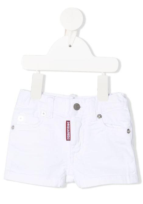 Shorts Dsquared2 DSQUARED2 | Shorts | DQ0329D00IWJEANS BIANCO