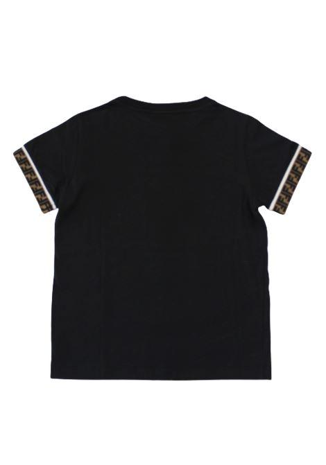 T-shirt Fendi FENDI | T-shirt | FEN73NERO