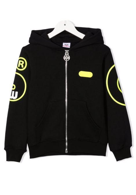 GCDS | sweatshirt | 028474NERO