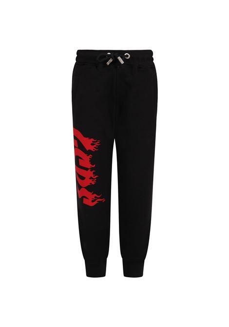 GCDS | trousers | 028500NERO