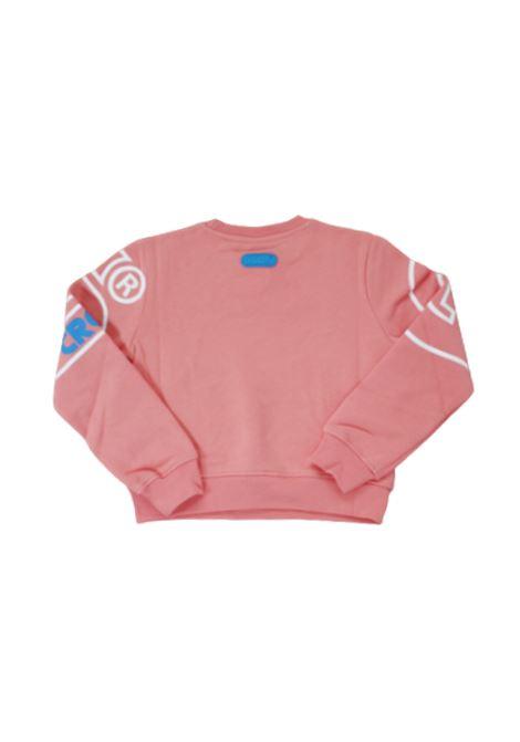GCDS | sweatshirt | 028666ROSA