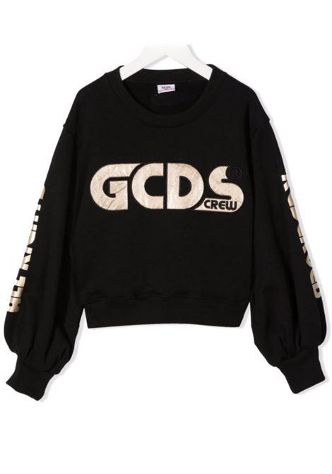 GCDS | sweatshirt | 028680NERO