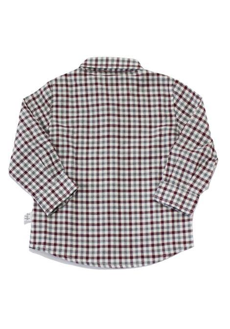 Camicia Il Gufo IL GUFO | Camicia | A20CL184C3120GRIGIO BORDEAUX