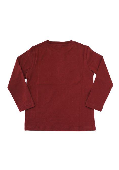 T-shirt Il Gufo IL GUFO | T-shirt | A20TA225M00941BORDEAUX