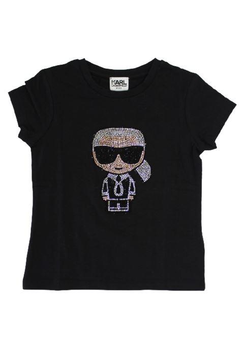 T-shirt Karl Lagerfeld KARL LAGERFELD | T-shirt | Z15253NERO