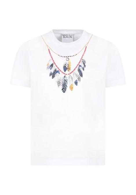 MARCELO BURLON   T-shirt   JER0030145BIANCO
