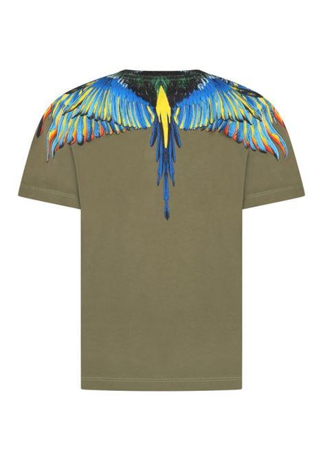 MARCELO BURLON   T-shirt   JER0085641VERDE