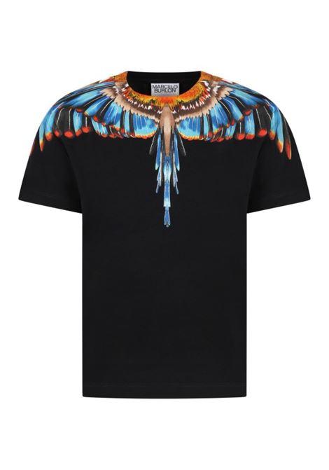 MARCELO BURLON   T-shirt   JER0091040NERO