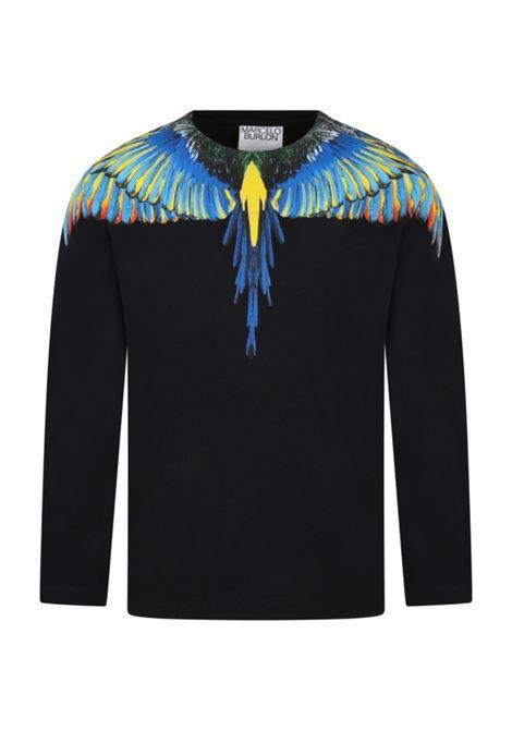 MARCELO BURLON   T-shirt   JER0051041NERO