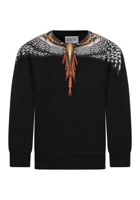 MARCELO BURLON   sweatshirt   FLE0051020NERO