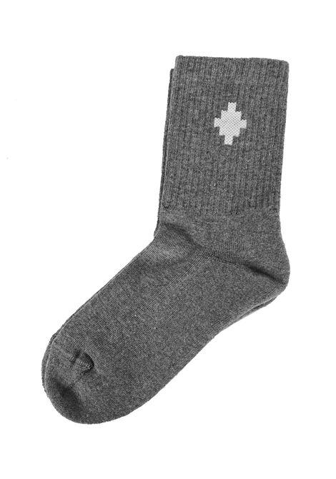 MARCELO BURLON   knee sock   KNI0010601GRIGIO