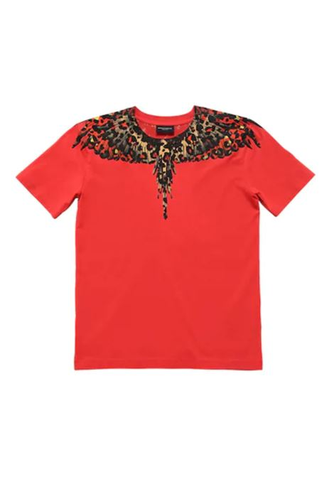 MARCELO BURLON | t-shirt short sleeve | MAR119ROSSO