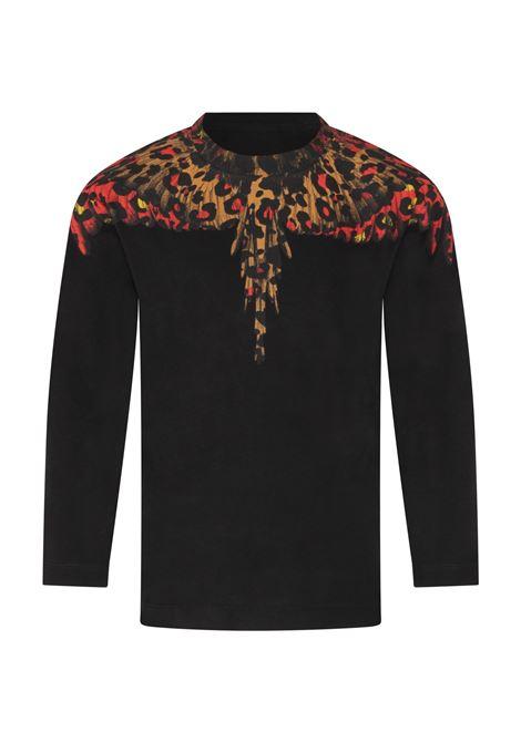 MARCELO BURLON | t-shirt long sleeve | MAR125NERO