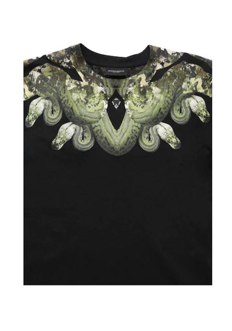 MARCELO BURLON | t-shirt long sleeve | MAR127NERO
