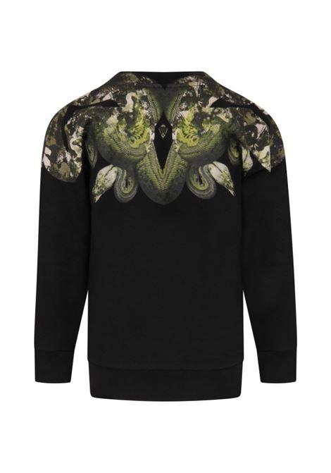 MARCELO BURLON | sweatshirt | MAR131NERO