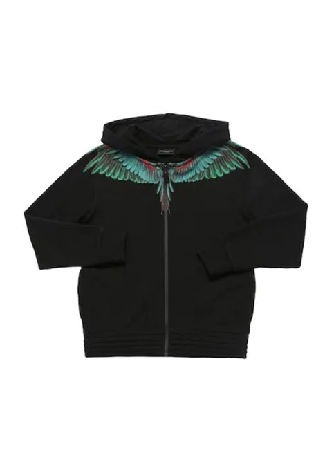 MARCELO BURLON | sweatshirt | MAR136NERO