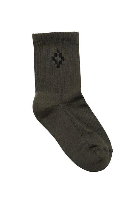 MARCELO BURLON | knee sock | MAR140VERDE