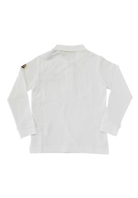 Polo Moncler MONCLER | T-shirt | F29548B70120BIANCO