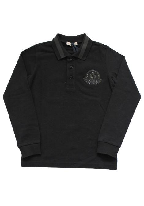 Polo Moncler MONCLER | T-shirt | F29548B70620NERO