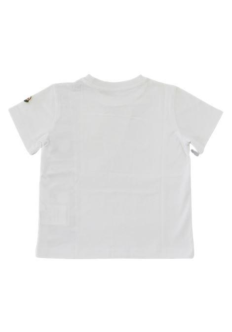 T-shirt Moncler MONCLER | T-shirt | F29548C72620BIANCO