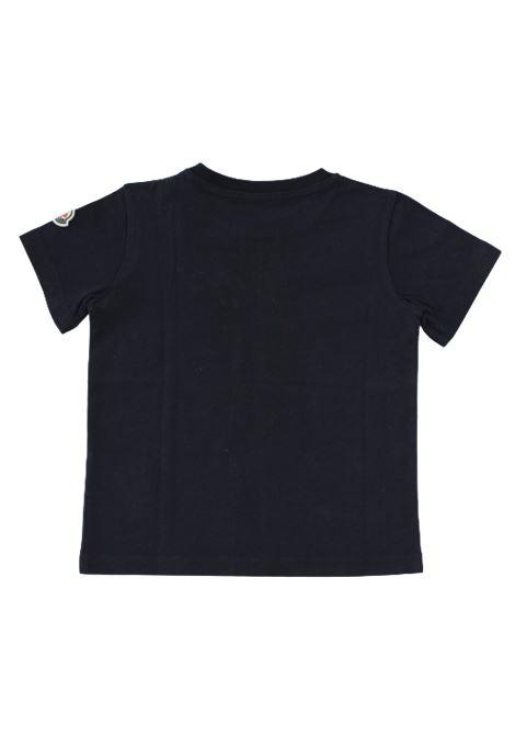 T-shirt Moncler MONCLER | T-shirt | F29548C72620BLU