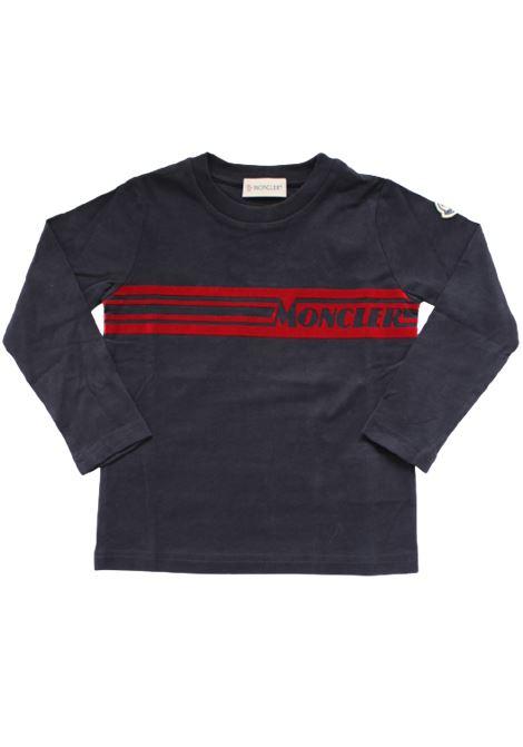 T-shirt Moncler MONCLER | T-shirt | F29548D70420BLU
