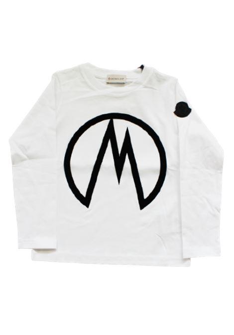 T-shirt Moncler MONCLER | T-shirt | F29548D70620BIANCO