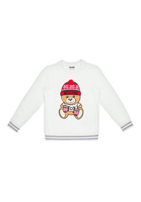 MOSCHINO | sweatshirt | H8F039BIANCO