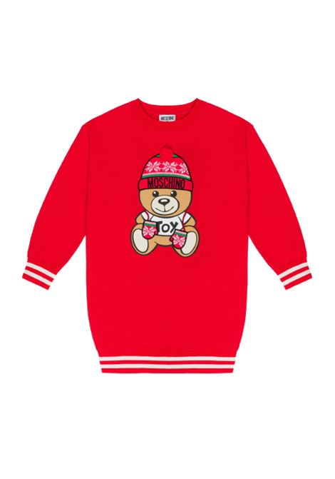 MOSCHINO | sweatshirt | H8F039ROSSO