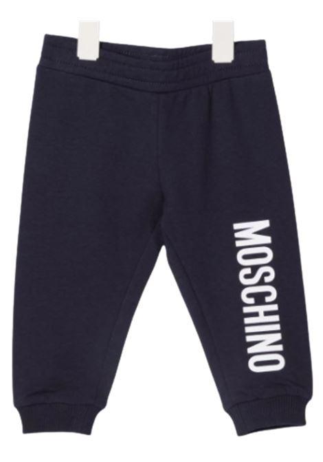 MOSCHINO | trousers | MNP035BLU