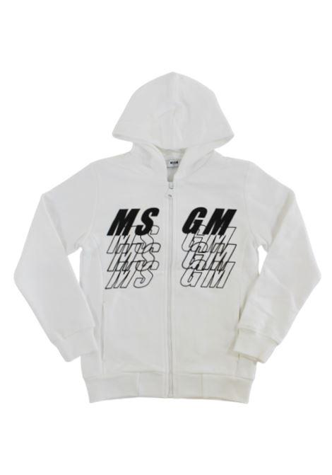 Felpa MSGM MSGM | Felpa | 025037BIANCO