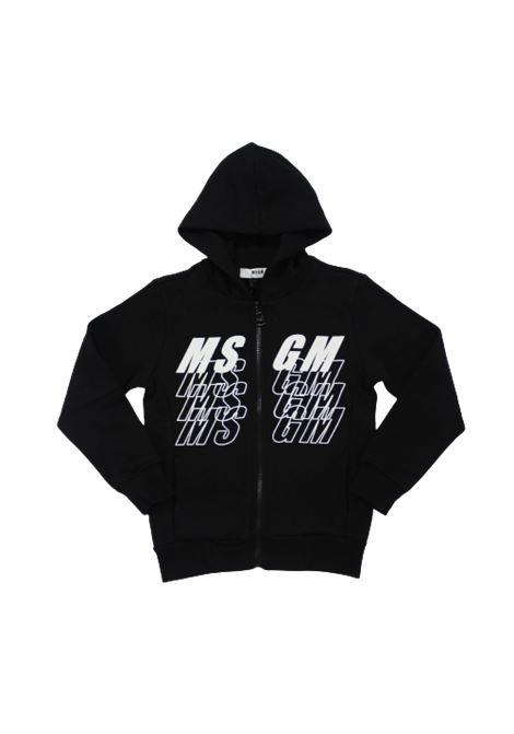 Felpa MSGM MSGM | Felpa | 025037NERO