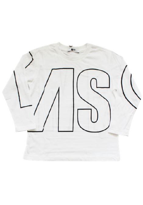 T-shirt MSGM MSGM | T-shirt | 025181BIANCO