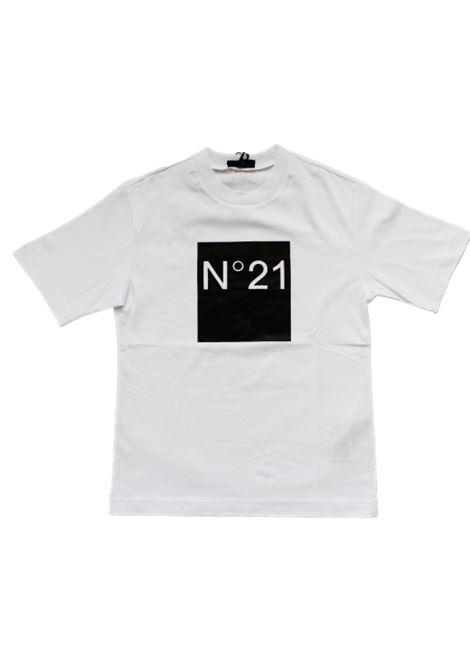 N21 | T-shirt | N214AVBIANCO