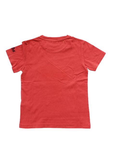 T-shirt Saint Barth SAINT BARTH | T-shirt | XMSN42ROSSO