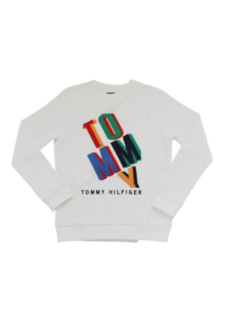TOMMY HILFIGER   sweatshirt   KB0KB05803BIANCO
