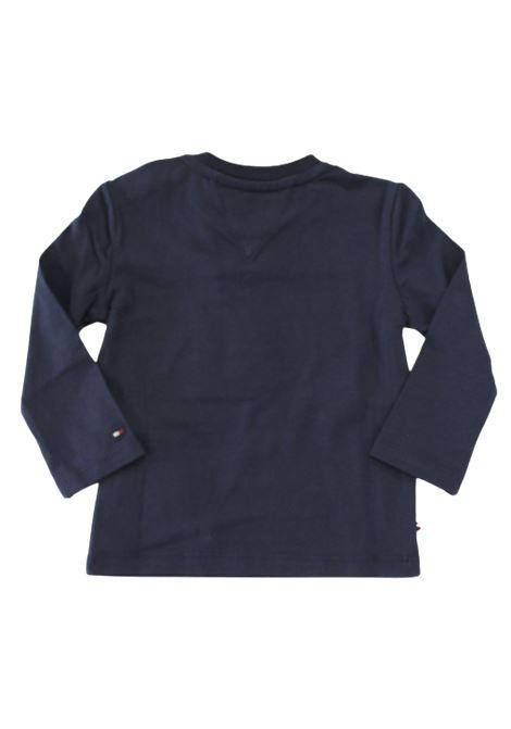 TOMMY HILFIGER   T-shirt   KN0KN01156BLU