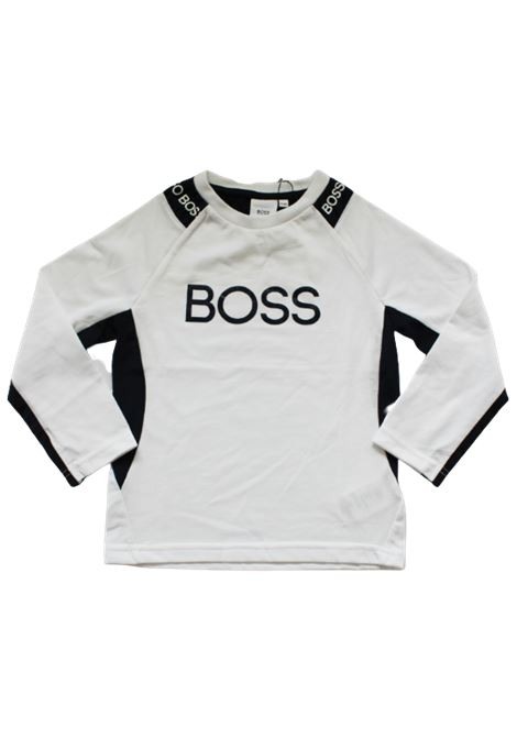 UGO BOSS | T-shirt | J25E40BIANCO