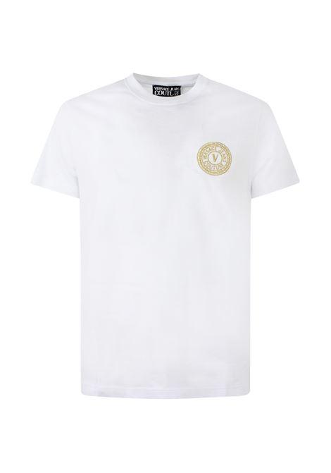 VERSACE | T-shirt | 71GAHT10BIANCO