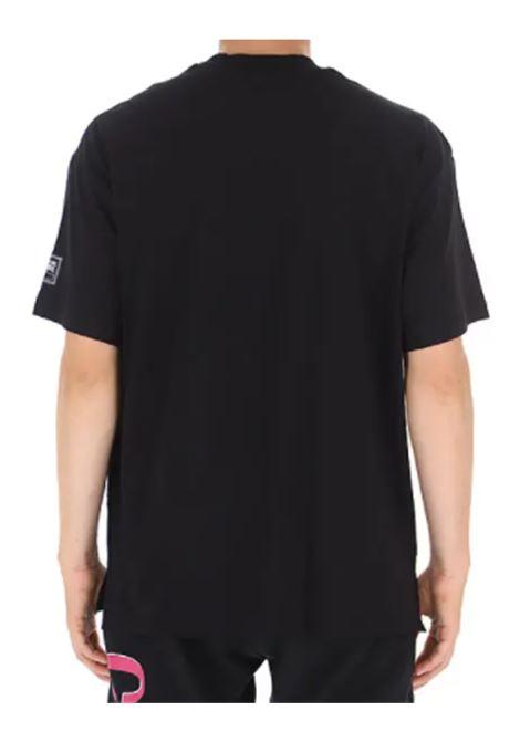 VERSACE | T-shirt | 71GAHT18NERO