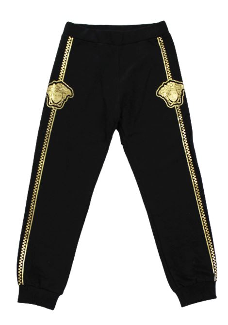 VERSACE | trousers | YD000195NERO