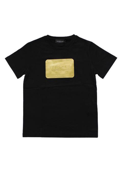 VERSACE | T-shirt | YD000323NERO